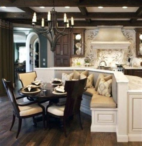 kitchen island with banquette 15 best images about kitchen island banquette on pinterest