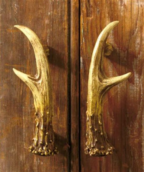 deer antler cabinet handles rustic lodge antler decorative hardware cabinet kitchen