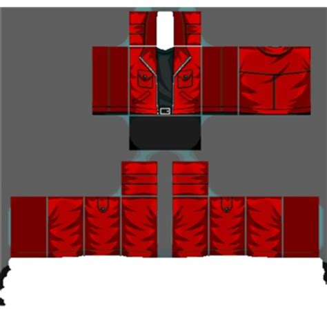 awesome jacket template roblox