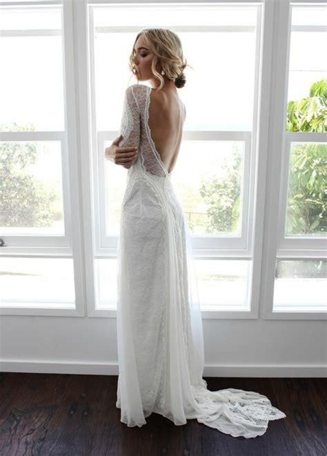 Robe Mariée Manche Longue Boheme - 1001 id 233 es pour une vision chic avec la robe de mari 233 e en