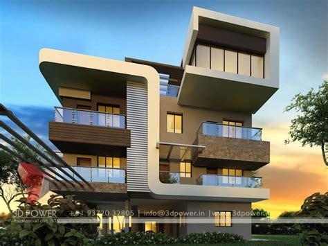 architecture house designs gallery architectural 3d bungalow rendering modern 3d