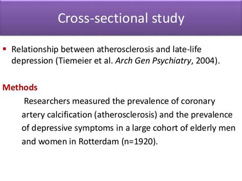 problems with cross sectional studies observational analytical study
