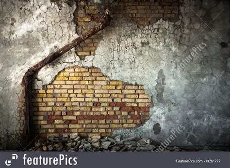 industrial wall industrial wall background with sewer pipe
