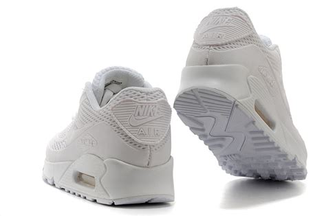nike air max 90 kpu all white mens womens athletic running