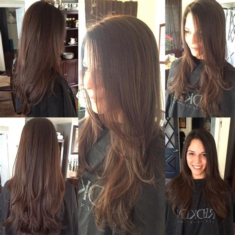 hair cutting inside layers long layer cut hair images 20 long layered haircut ideas