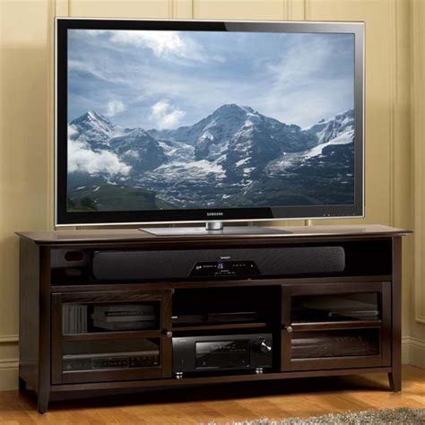 tv cabinet for 65 inch tv bello no tools assembly 65 inch wood tv cabinet dark