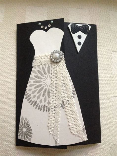 how to make wedding cards easy diy wedding card cards easy to make