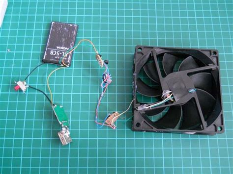 how to use a phone fan charge your smartphone by making this cool wind turbine