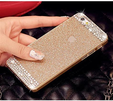 Iphone 6 Plus Luxury Bling Gold Casing Cover Bumper iphone 6 plus haotp tm luxury hybrid glamorous glitter shiny bling sparkle