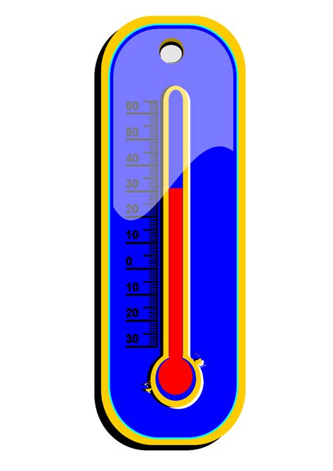 thermometer clip weather thermometer clip clipart panda free