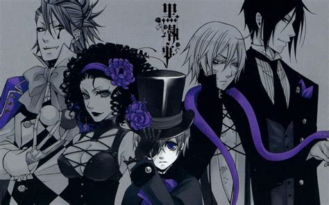 kuroshitsuji wallpaper tumblr black butler wallpapers wallpaper cave