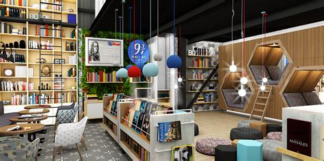 libreria europa madrid 9 3 4 bookstore caf 201 dise 241 o interior on behance