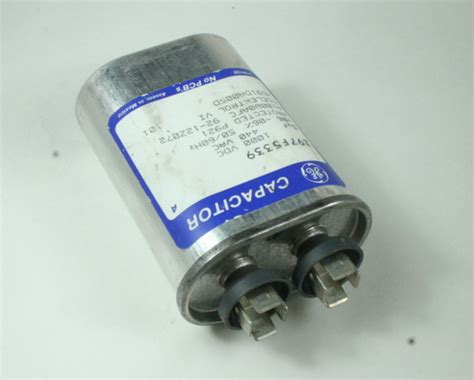 electric motor run capacitor function new 5uf 440vac motor run ge capacitor z97f5339 ebay