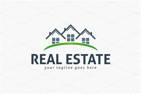 Real Estate Logo Templates real estate logo template logo templates on creative market