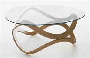 agréable Table Basse Verre Et Bois #2: table-basse-ronde-design-verre-et-bois-table-basse-ronde-pour-le-salon.jpg