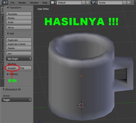 cara membuat gambar gelas 3d cep hendri efendi cara membuat object gelas mug