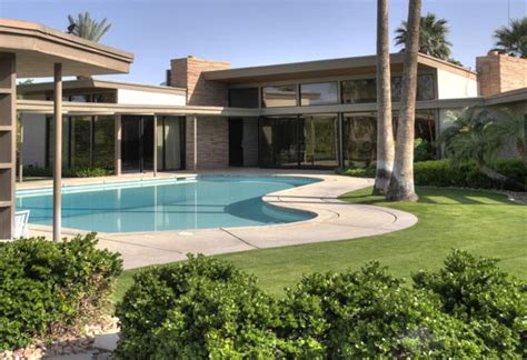 frank sinatra house twin palms by e stewart williams art happenings in palm springs coachella valley new
