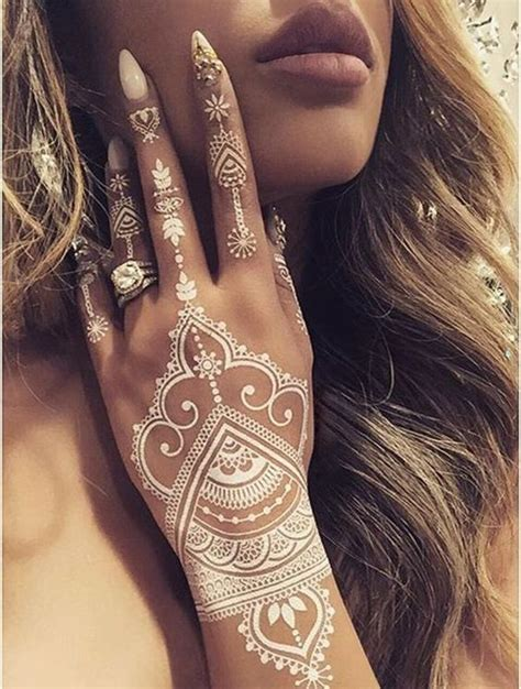 white henna hand tattoo designs 15 breathtaking henna designs you will