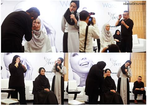 Eyeshadow Wardah Abu Abu event wardah fabulashes day ola aswandi