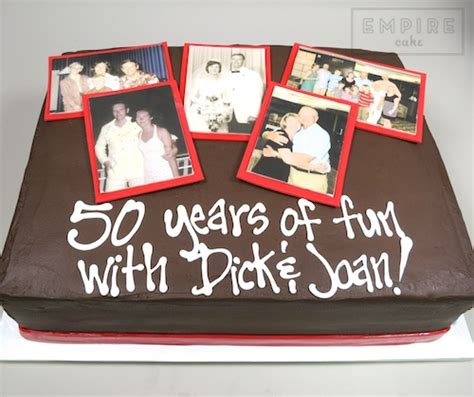 Wedding Anniversary Scrapbook Ideas by Anniversary Scrapbook Empire Cake