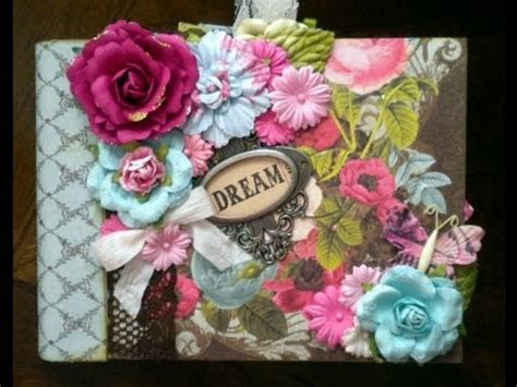 scrapbook tutorial videos scrapbook tutorial triple pocket page for mini albums