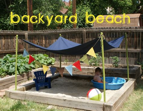the backyard beach 25 awe inspiring diy sandbox ideas for a fun filled summer