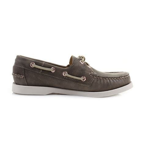 sebago boat womens sebago dockside sage leather deck boat shoes size