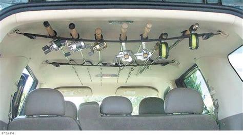 berkley  rapala rod racks    suv fishing fishing rod storage fishing rod rack