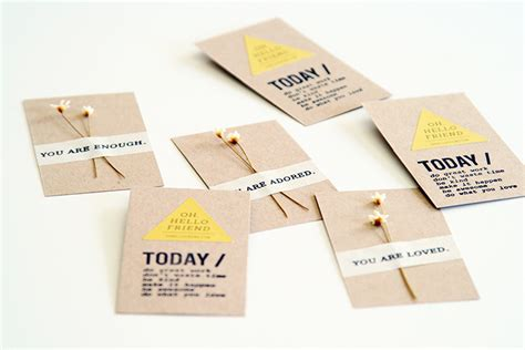 Handmade Business Names - you are business cards oh hello friend