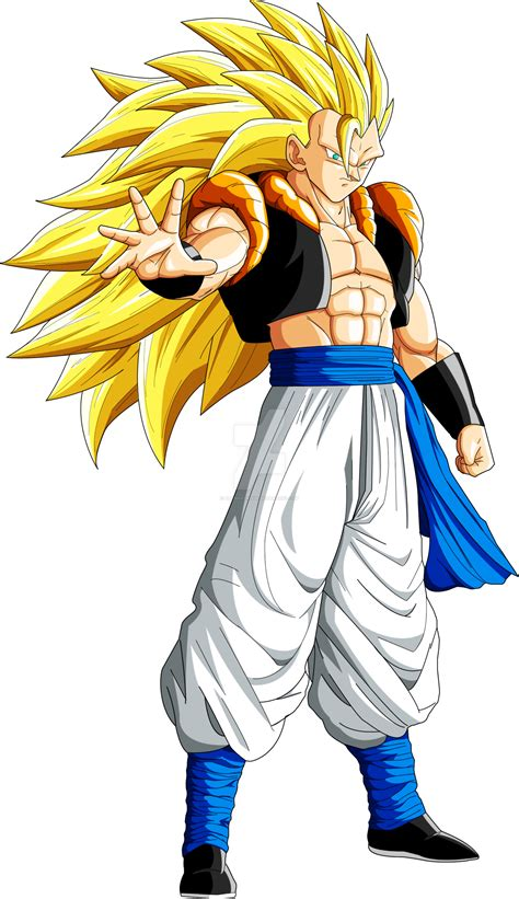 Imagenes De Goku Gogeta   gogeta ssj3 unlimited power by artmaker1936 on deviantart