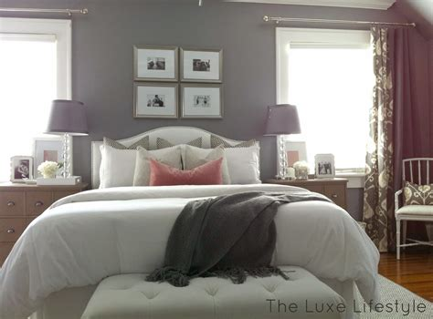 the luxe lifestyle master bedroom reveal