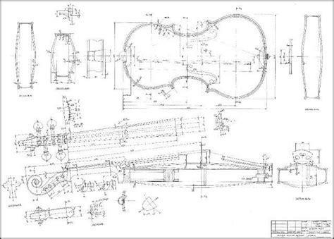 blueprint of a 19th c violin maker s plans 11 x week 1 sci fab