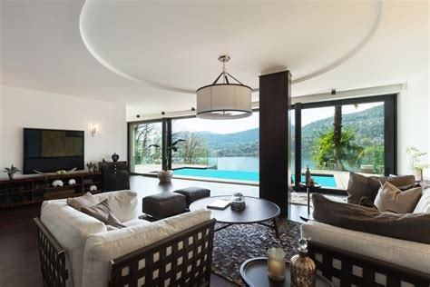Living Room Pool View 79 Living Room Interior Designs Furniture Casual