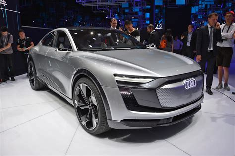 2019 Audi Electric Car e sportback concept previews audi electric car coming