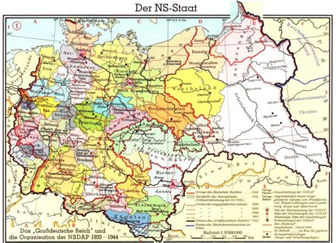 map of germany 1944 map collection 1