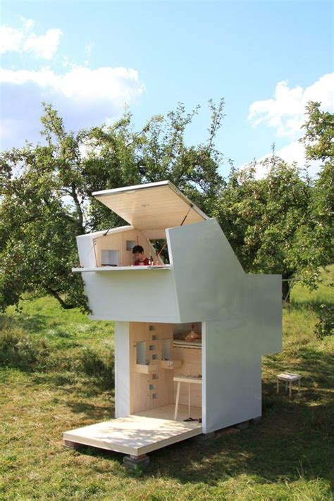 micro house the spirit shelter tiny house for meditation self reflection