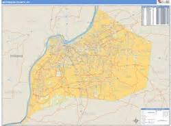 zip code map jefferson county ky jefferson county ky zip code wall map basic style by