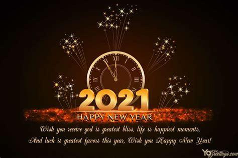happy  year  greeting card  fireworks