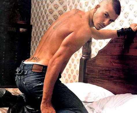 david beckham tattoo prison break georgio armani s new butt david beckham underwear model