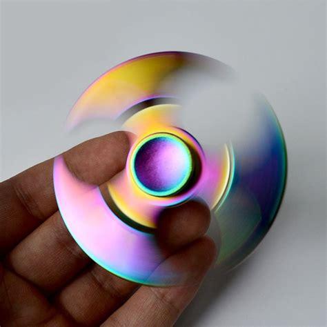 rainbow axe fidget spinner toys anti anxiety