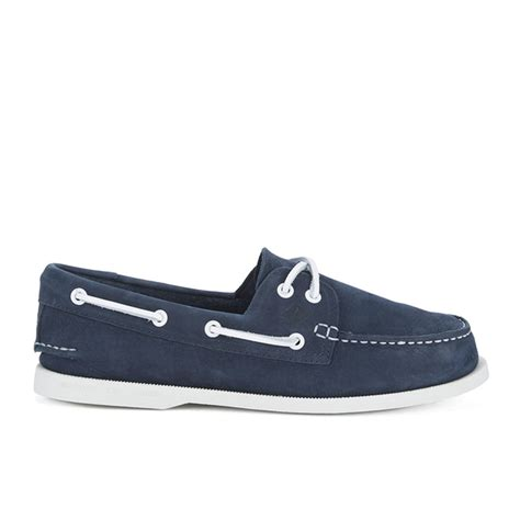 sperry washable boat shoes sperry men s a o 2 eye washable leather boat shoes navy