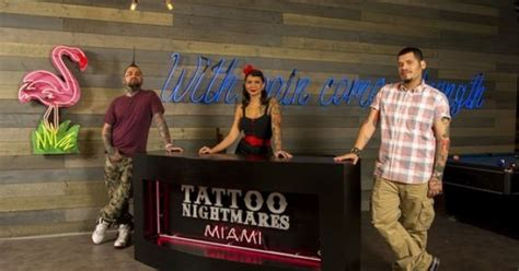 tattoo nightmares judges tattoo nightmares miami found unlucky charms http www