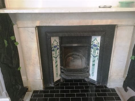 Marble Fireplace Cleaner by Stained And Discoloured Marble Fireplace Rejuvenated In