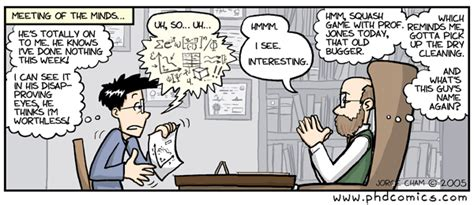 phd comics advisor meeting making the most of ph d supervisor meetings jakob