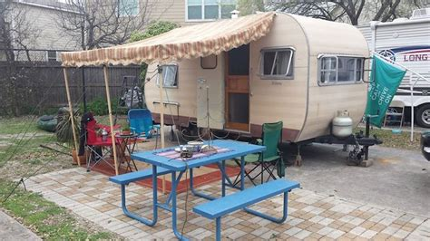install rv awning yourself how to repair or replace a pole and rope awning