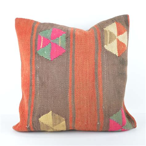 large kilim pillow 20x20 kilim cushion 50x50cm large