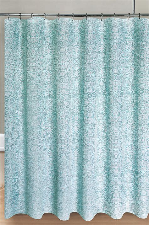 aqua shower curtains shower curtains everything turquoise page 2