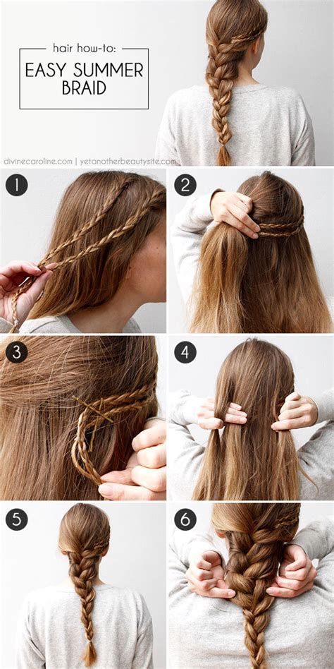 cool braids steps diy easy summer braid pictures photos and images for