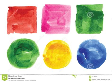 design elements watercolor watercolor design elements stock image image 34780101