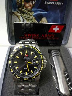 Jam Tangan Christie 2604lh Original Kuning jual jam swiss army kuning pisau set original jam batam
